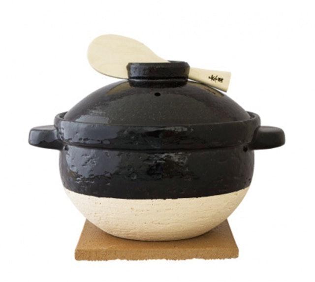 長谷園伊賀燒  遠紅外線節能日式炊飯鍋 1