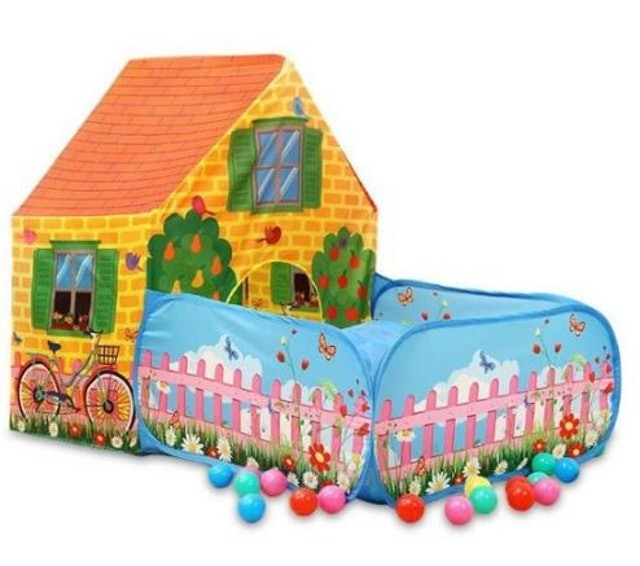 房子花園兒童帳篷 1