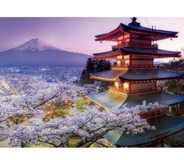 EDUCA 富士山拼圖 1