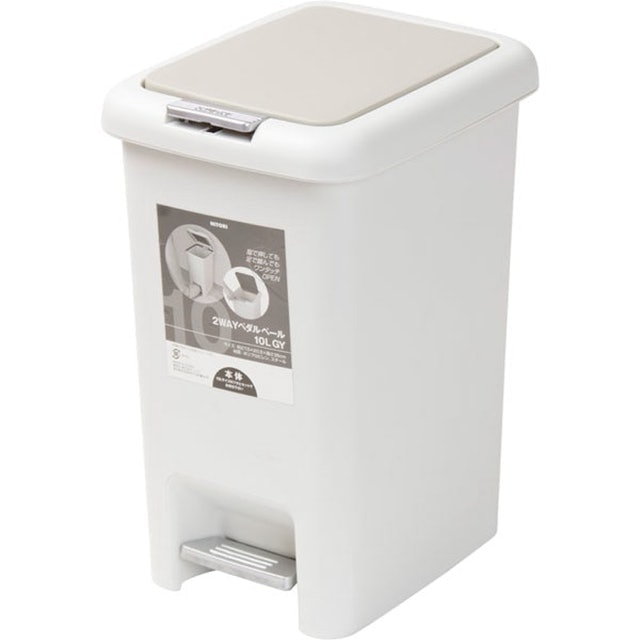 NITORI宜得利 踏板按壓2用垃圾桶 1