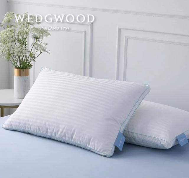 WEDGWOOD 50/50羽絨枕 1