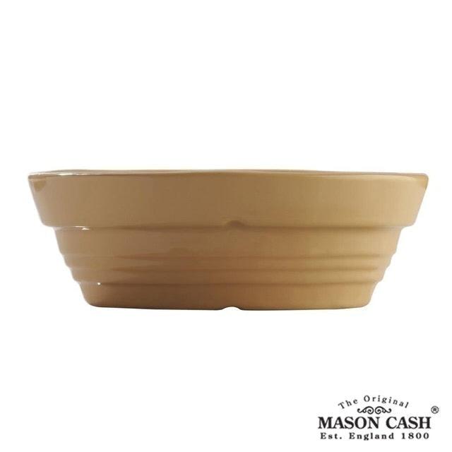 MASON 浮雕陶瓷橢圓烤派盤 1