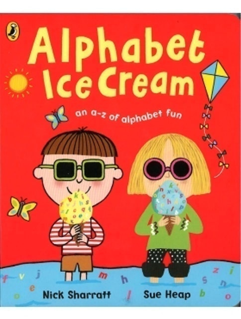 Alphabet Ice Cream 1