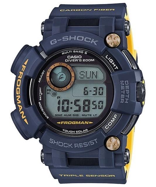 CASIO  G-SHOCK MASTER 海軍蛙人太陽能電波專業潛水錶 1