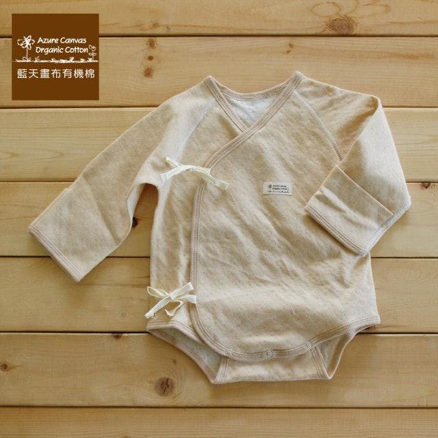 Azure Canvas藍天畫布 彩棉嬰兒連身肚衣二件裝 1