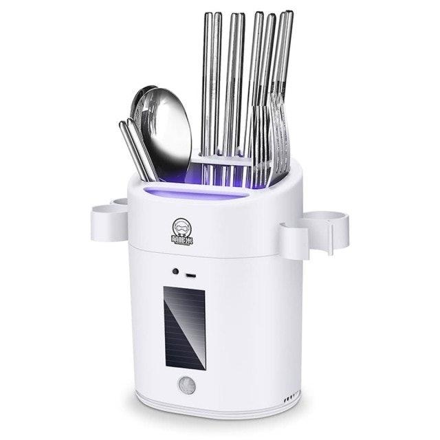 萌哆米  智能殺菌紫外線消毒餐具筷子桶 1