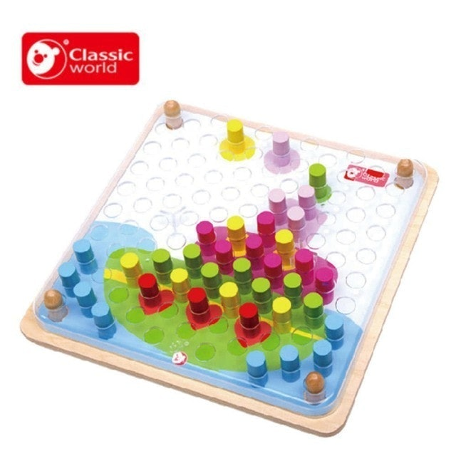 Classic World PEGS 創意木釘遊戲 1