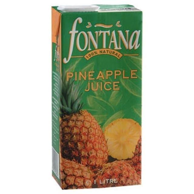 FONTANA  鳳梨汁 1