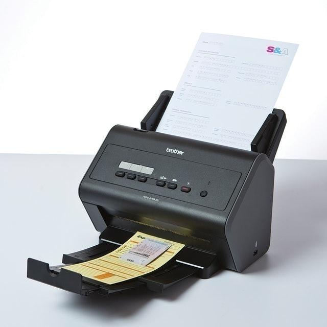 Brother 專業級網路高速文件掃描器 1