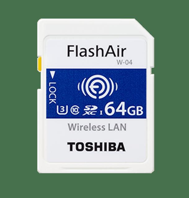TOSHIBA東芝 FlashAir Wi-Fi記憶卡 1