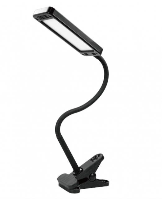 KINYO 高亮度 USB 夾燈 1