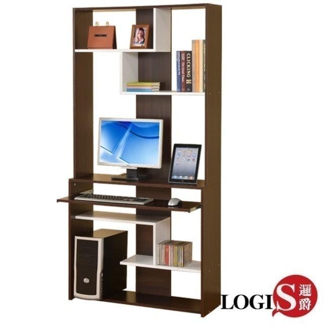 LOGIS  層架式電腦桌櫃 1