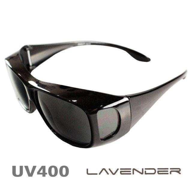 Lavender 偏光片套鏡 近視/老花可戴 1