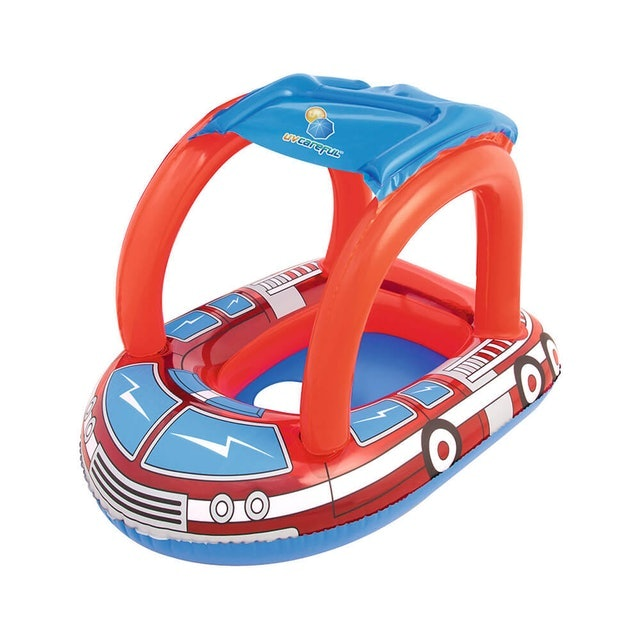 Bestway  消防車造型抗UV 充氣座圈  1