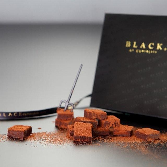 Black As Chocolate 生巧克力禮盒 唐寧伯爵茶風味 1