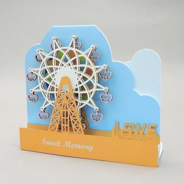 哈比屋音樂盒 LOVE 愛情摩天輪音樂盒 1