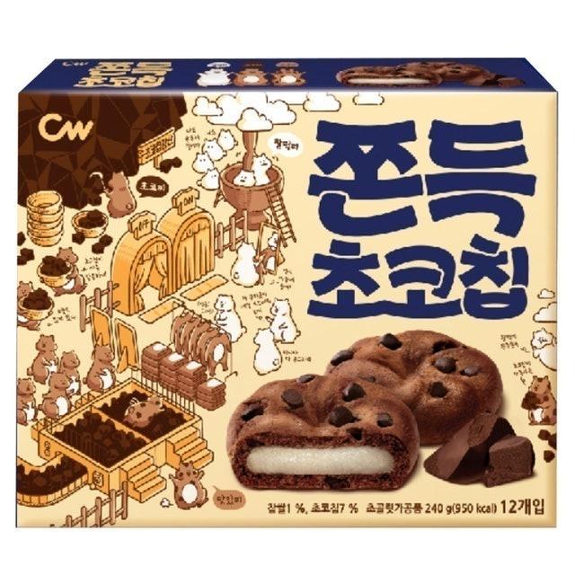 CW 可可豆風味麻糬餅 1