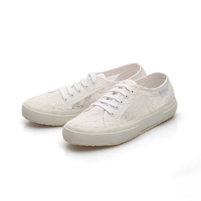 SUPERGA 義大利國民帆布鞋 蕾絲款 1
