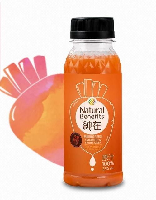 純在 胡蘿蔔綜合果汁 1