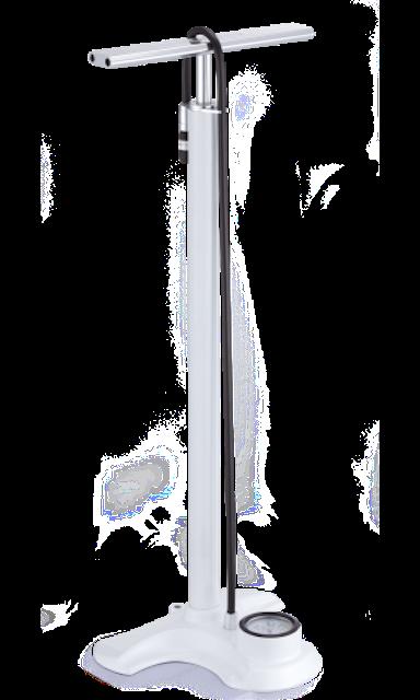 Airbone 超時尚鋁合金直立式打氣筒 1