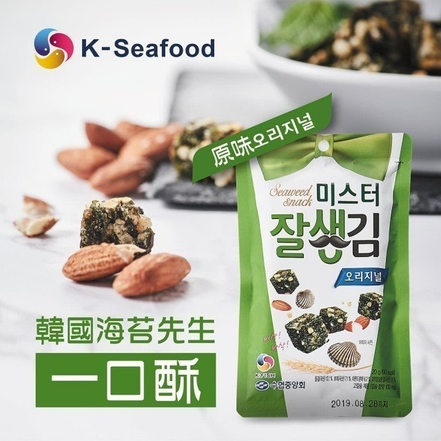 韓國海苔先生 一口酥(原味) 1