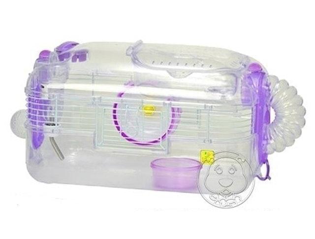 SANKO  挑高型透明倉鼠籠 1