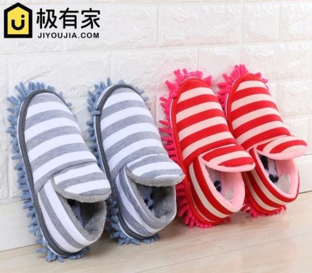 冬季柔軟家居清潔拖鞋 1