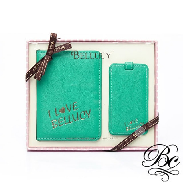 BELLUCY  護照套行李吊牌旅遊套組 1