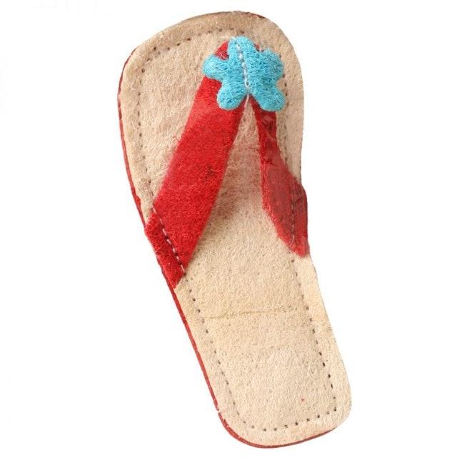 拖鞋形絲瓜潔齒寵物玩具 1