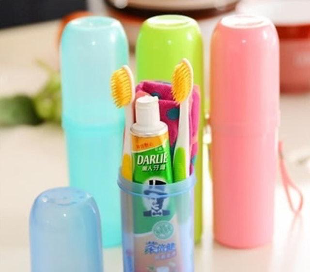 E.dot 旅行牙膏牙刷收納盒 1