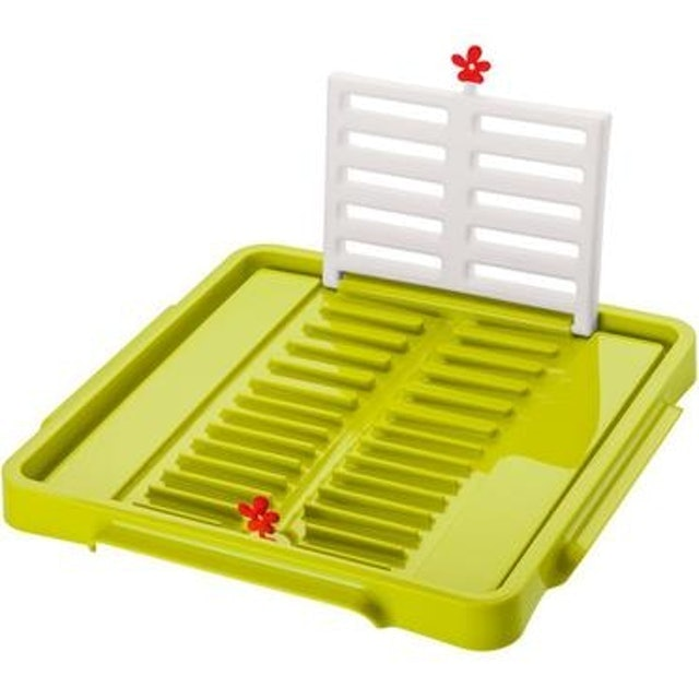 KOZIOL 摺疊碗盤瀝水架 1