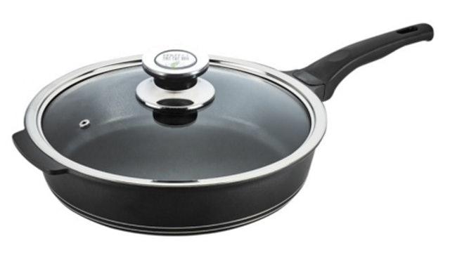 PERFECT理想 日式黑金鋼深型平底鍋 1