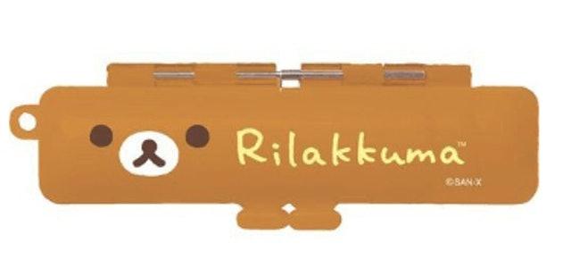 懶懶熊 塑膠口金印鑑收納盒 1