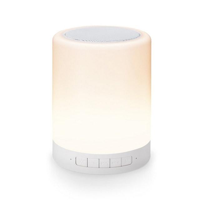 E-books  藍牙觸控式 LED 夜燈喇叭  1