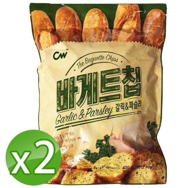 CW 韓國大蒜麵包餅乾 1