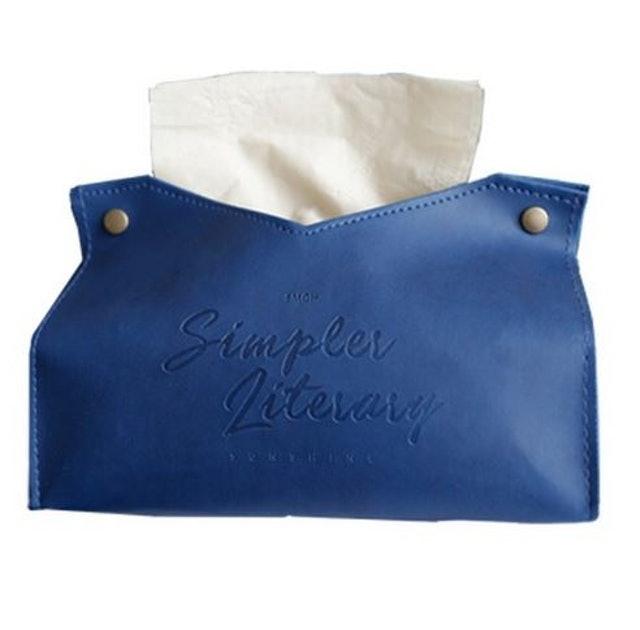 北歐皮革優質紙巾盒 1
