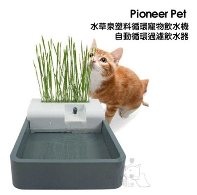 Pioneer Pet 水草泉塑料循環寵物飲水機 1