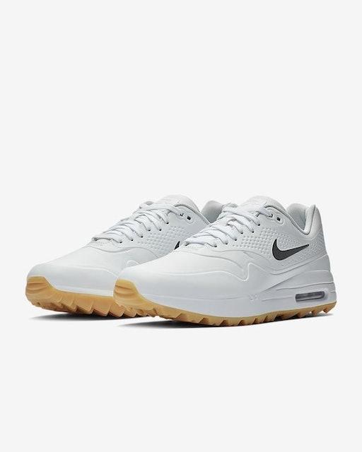 NIKE  Air Max 1G 男款軟釘高爾夫球鞋 1