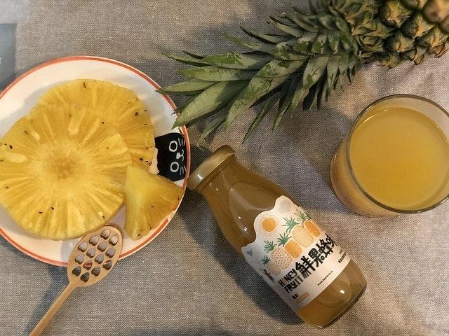 蜜田本舖 鮮果蜂味鳳梨汁 1
