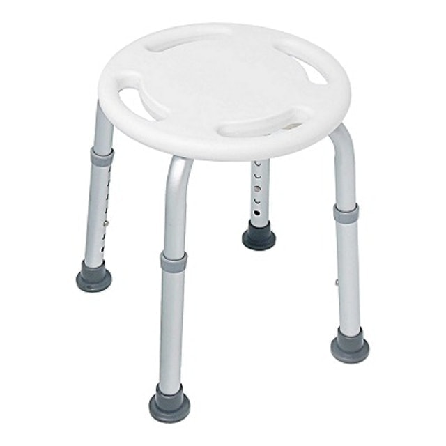 COLOR 鋁合金防滑洗澡圓椅凳 1