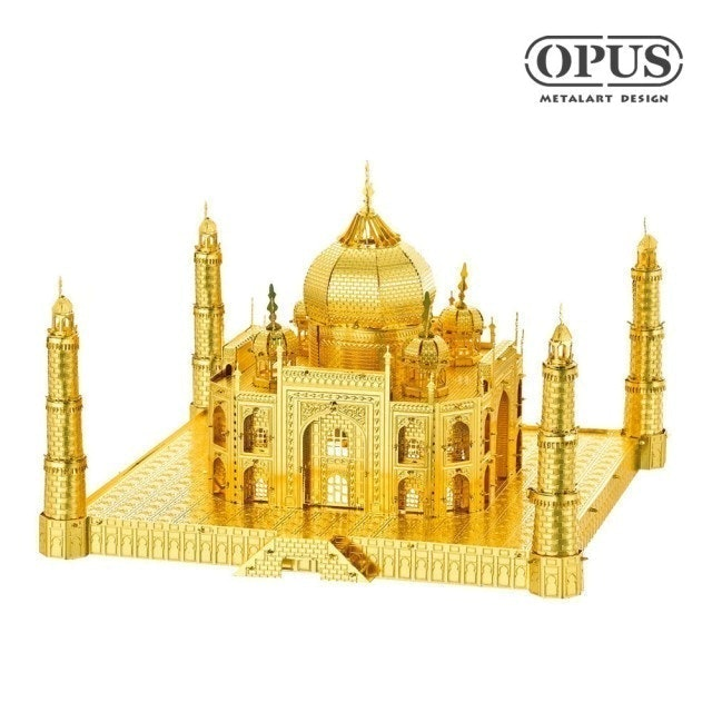 OPUS東齊金工 3D立體金屬拼圖泰姬陵  1