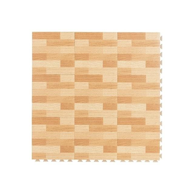 樂嫚妮  防燄降噪耐磨抗菌DIY巧拼地板貼 1