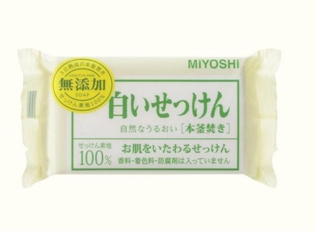 MIYOSHI 無添加純白肥皂 1