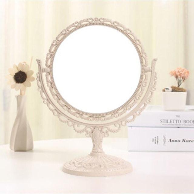 幸福揚邑  歐式麥稈化妝鏡 1