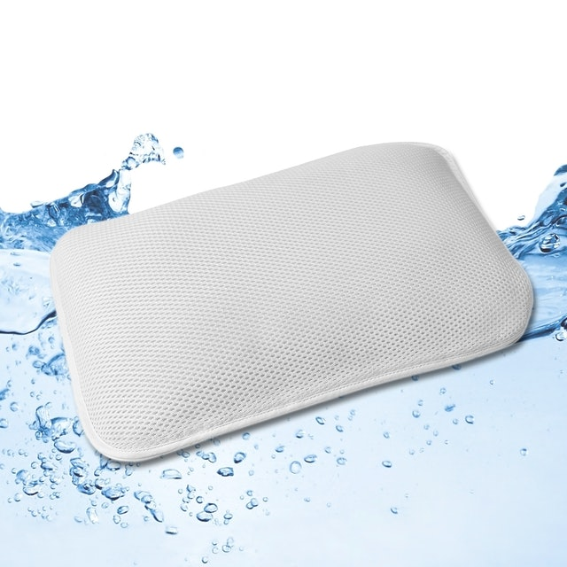 亞曼達Amanda 3D立體透氣可調高度可水洗枕頭 1