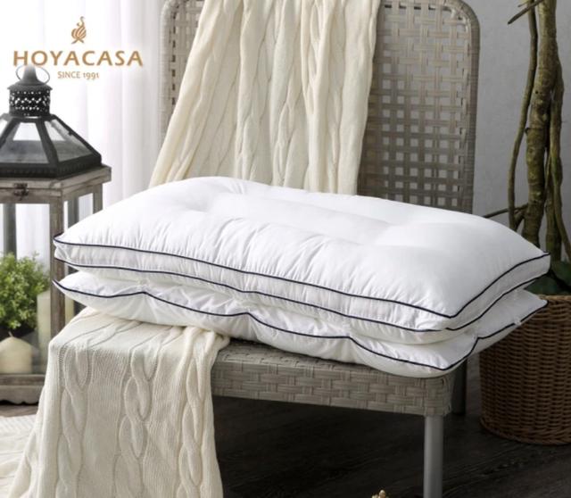 HOYACASA 可調節式兩用抗菌羽絨枕 1