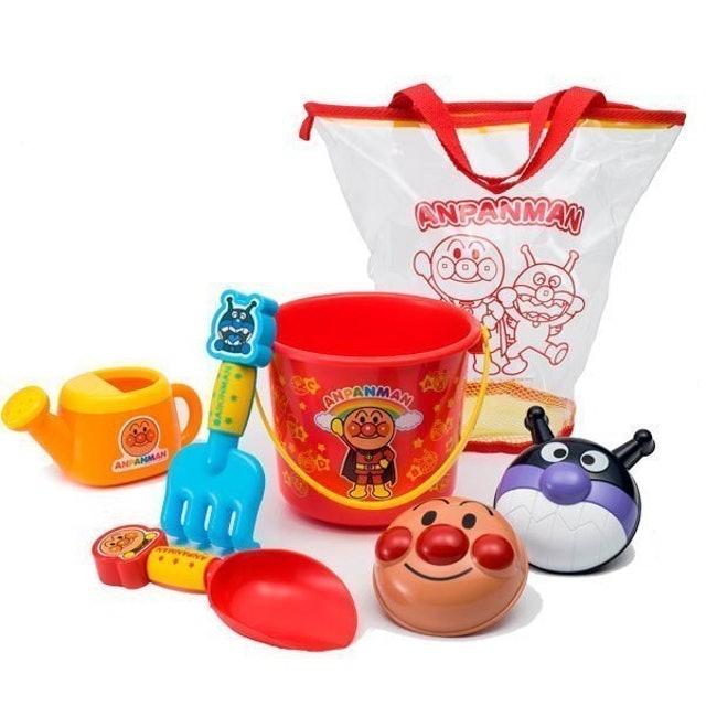 JoyPalette  麵包超人沙灘玩具七件組 1