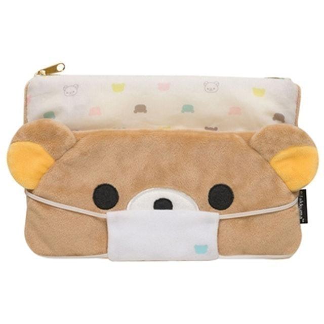 San-X Rilakkuma懶懶熊口罩收納包 1