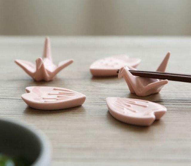 日式千紙鶴筷架 1