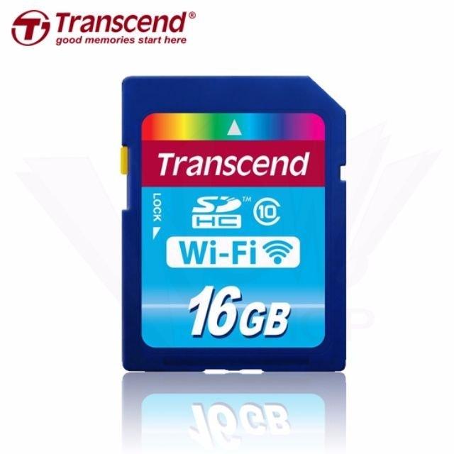 Transcend創見 Wi-Fi SD 記憶卡 1